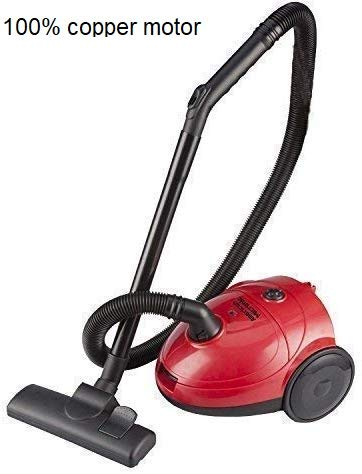 American Micronic -1000 Watt (1200W Max) Mid Size Imported Vacuum Cleaner- AMI-VC1-10DX-Red Price & Reviews