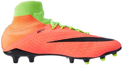 Nike Herren Hypervenom Phatal III FG Fußballschuhe Mehrfarbig (Vert Électrique/hyper Orange/vert Volt/noir)