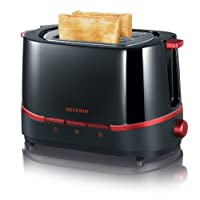 Severin AT 2292 Automatik-Toaster Select / 800 W / Brötchen-Röstaufsatz /...