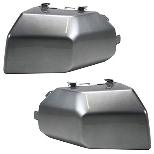 Koolzap For 07-14 FJ Cruiser Front Bumper Face Bar Extension End Left & Right PAIR SET