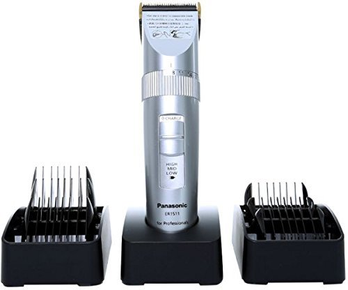 Panasonic ER1511 Cordless Professional Hair Clipper + 6 Combs (MADE IN JAPAN)