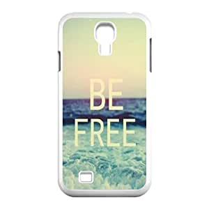 Be Free DIY Cover Case for SamSung Galaxy S4 I9500,personalized phone case ygtg579961