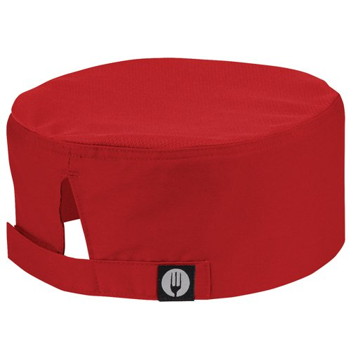 Chef Works Cool Vent Beanie, Red 4759