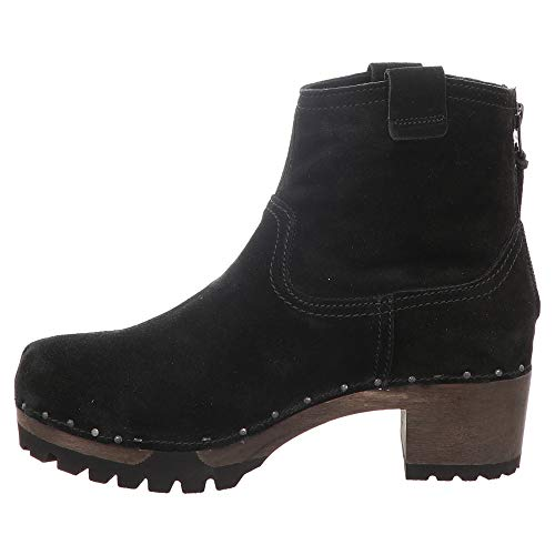 black S3354 04 Boots Softclox Black Women's zwBXq5nx0