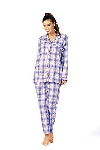 Comtessa - Pijama - Cuadrados - para mujer berenjena