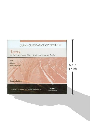 Sum and Substance Audio on Torts by West Academic Publishing
