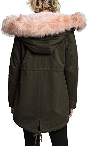 Parka Urban Lined Ladies Classics 551 Teddy Peached Femme darkolive Grün Xrrfxw