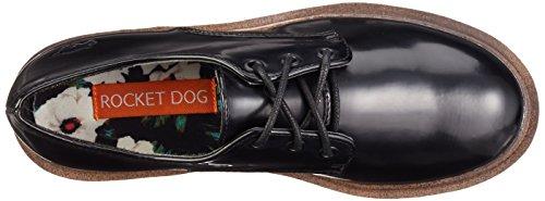 Rocket Dog LANDER - Zapatos de cordones para mujer Negro (Black A00)