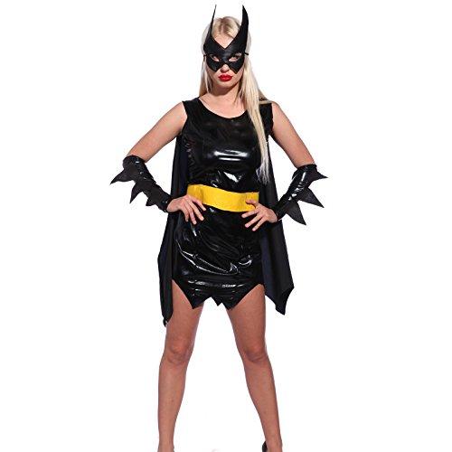 Sexy Superwoman Costume BatGirl L us 10 12 (Superwoman Costumes For Girls)