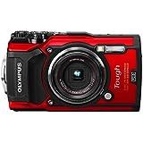 Olympus TG-5 Waterproof Camera with 3-Inch LCD, Red (V104190RU000)
