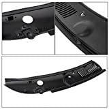 ECOTRIC 2Pcs Windshield Wiper Cowl Vent Grille