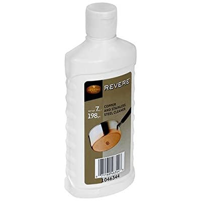 Revere 7-Ounce Copper and Stainless-Steel Cleaner