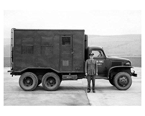 1954-gmc-k53-25-ton-military-truck-usaf-photo-korean-war-air-force