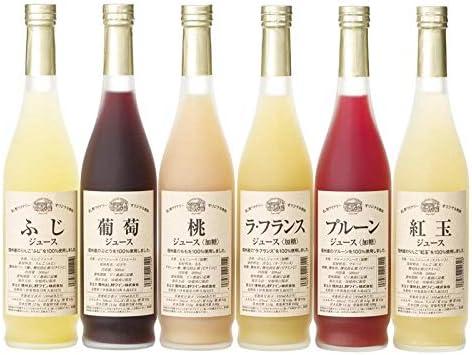 りんご村からのおくりもの 信州産フルーツジュース詰合せ MW-6