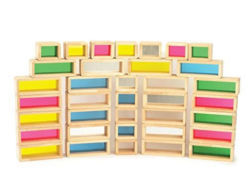 (TickiT 9361 TickiT 9361 Rainbow Bricks (Pack of 36))
