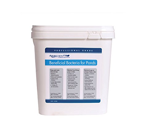Aquascape 30407 Beneficial Bacteria Water Treatment for Ponds, Pro Contractor Grade, Dry, 1 gallon/3.78 L by Aquascape