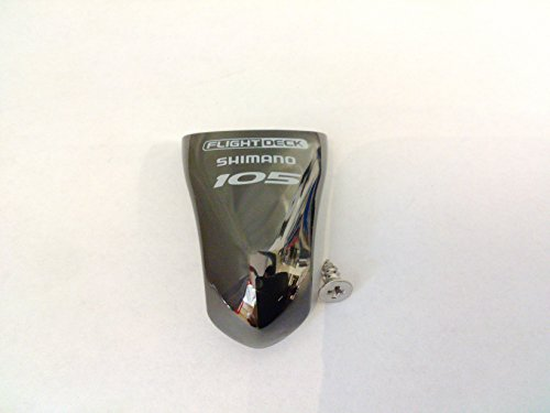 Shimano 105 ST-5600 STI Name Plate & Fixing Screw Black