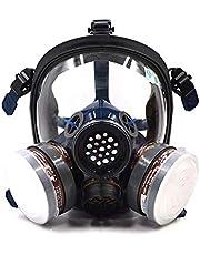 ST-S100-3 Volledig Gezicht Verf Respirator Gas Chemische Stofdichte Pesticiden Masker, Dubbele Luchtfilter, Oogbescherming, Respiratoire Bescherming, Organische Vapor Respirator