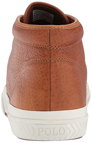 Tan Ralph Lauren Mens Thurlos Sneaker Tan