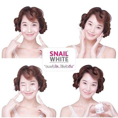 snail white Helps to nourish and revitalize skin, reduce wrinkles, scars helps to tighten the skin. Muscle relaxation Inflammation of the skin to stimulate new cells. Reduce wrinkles Prevent scarring Reduce acne scars Skin soft and smooth. Available with deep wrinkles and deep wrinkles. Oil control Reduces the formation of pimples (1box *snail white)