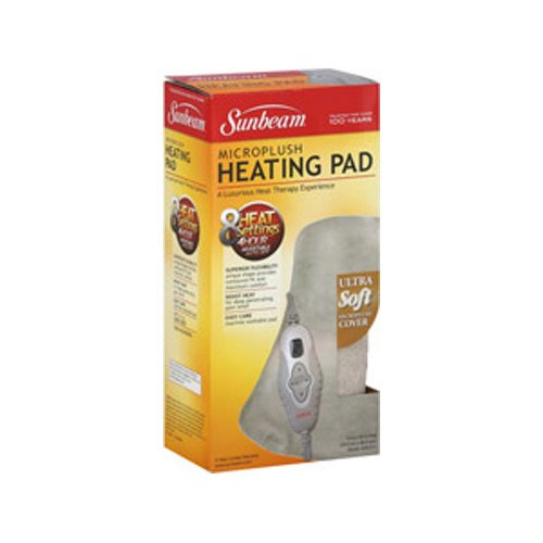 oured Heating Pad with Digital LED Controller (Hourglass Pads)