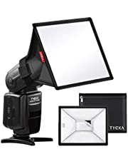 """Flash Diffuser Light Softbox 6x5"""" (Universal, Collapsible) for Nikon Speedlight, Canon, Sony, Yongnuo and Other DSLR Flash Light"""