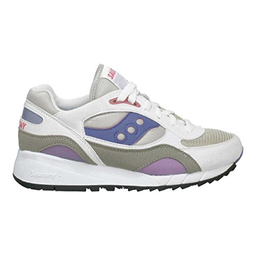 Saucony Originals Women's Shadow 6000 Cushion Sneaker,Whi...