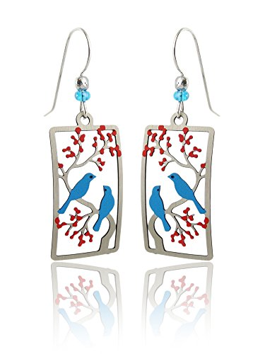 Sienna Painted Cherry Earrings Sterling product image