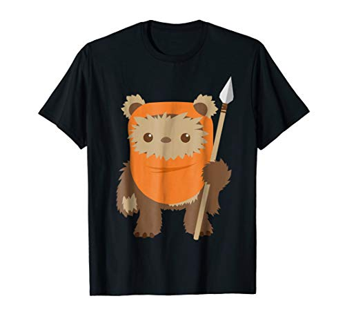 Star Wars Wicket Ewok Chibi Kawaii Cute Graphic T-Shirt