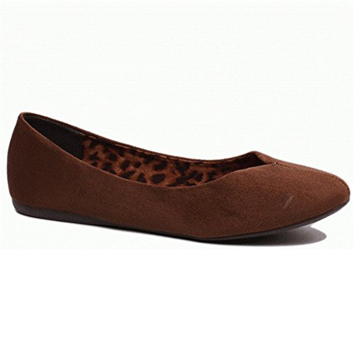 Brown Like Women's Indy Jellypop Flat Suede vt0wqZ