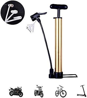 LieYuSport Bomba de pie Mini Portátil 120PSI,Bomba Bicicletas ...