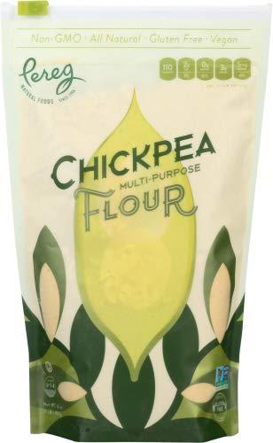 Pereg Gourmet 16 oz Chickpea Harina (paquete de 6)