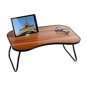 HOME BI Laptop Table For Bed, 23u0026quot;x15u0026quot;x9.65u0026quot;(