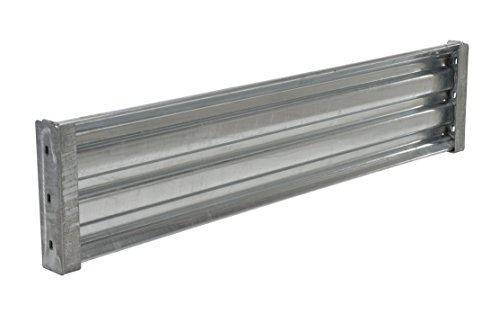 (Vestil GGR-LO-6 Galvanized Drop-In Structural Guard Rail, 65-7/8
