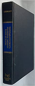 Book Nonparametrics (Holden-Day series in probability and statistics)