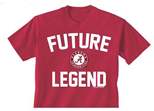 Babyhclub New World Graphics Alabama Future Legend Toddler T-shirt-4t Cardinal