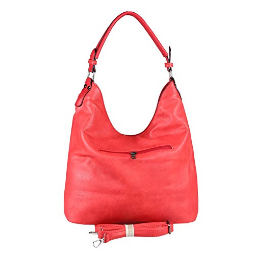 Beautiful mujer OBC para ca Rojo BxHxT hombro al 42x34x12 Rosa Couture Only cm Bolso Rosa r0qwr5
