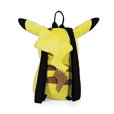 Pokemon Boys' Pikachu Plush Backpack, Yellow | Kids' Backpacks