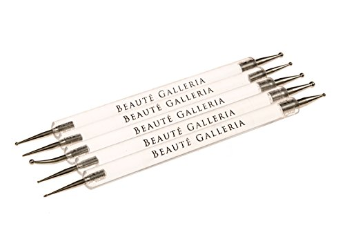 Beaute Galleria - 5 pcs Dotting Pen (Nail Art Dotting Tool Set compare prices)