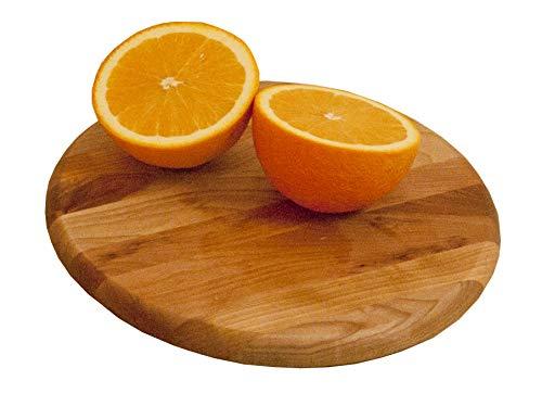 (Catskill Craftsmen 13781 Round Utility Single Cutting Board One Size Wood)