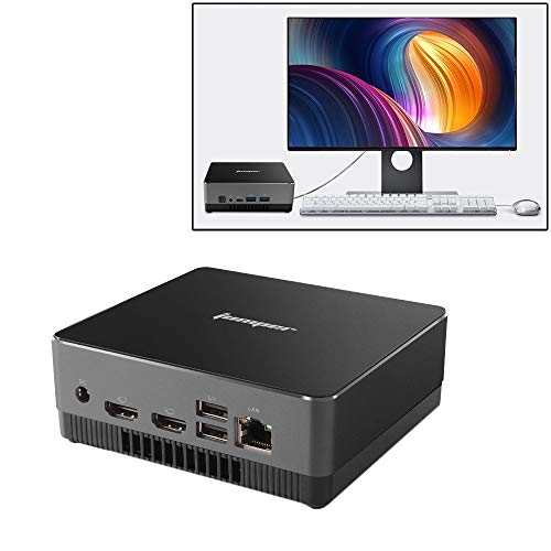 Jumper EZBox i3 Mini PC, Intel Broadwell i3-5005U Processor Dual Core 2.0GHz, RAM: 8GB, ROM: 128GB