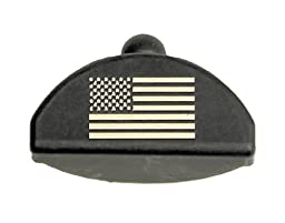 Sure Plug Gen 4 Laser Engraved US Flag - Designed for Glock 17, 19, 22, 23, 31, 32, 34, and 35.