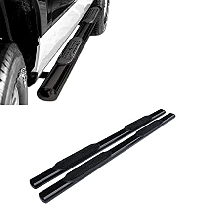 Mifeier Fit 04-08 Ford F150 Super//Extended Cab 3 Black Side Step Rails Nerf Bar Running Boards with 2 Half Size Rear Doors