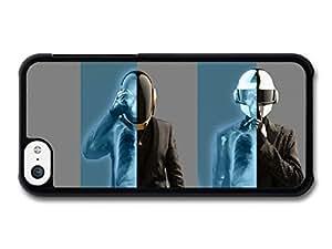 MMZ DIY PHONE CASEDaft Punk Skeleton X Ray case for iphone 6 4.7 inch