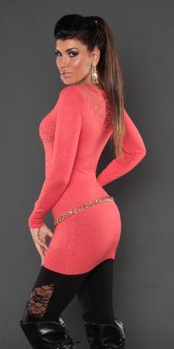 Koucla - Jerséi - para mujer Coral
