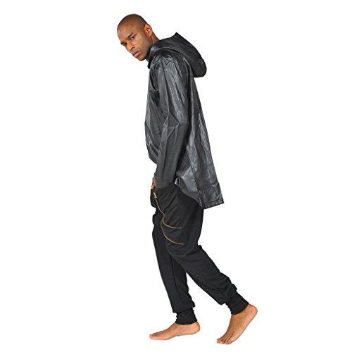 Sweatshirt Senza Uomo Maniche Da Felpa Y1145 Pizoff Oversize Poncho Gotico dwqBPSdWp
