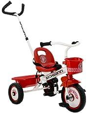 "Schwinn S6714AZ Easy Steer Tricycle, Red/White 8"""