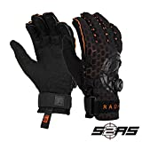 Radar Vapor A - BOA - Inside-Out Glove - Black/Orange Ariaprene - L