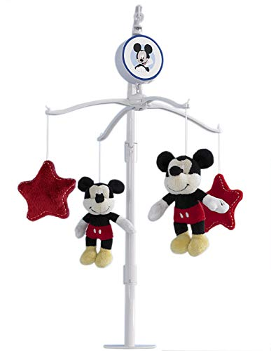 Disney Mickey Mouse Best Friends Musical Mobile, Red/Yellow/Black/White