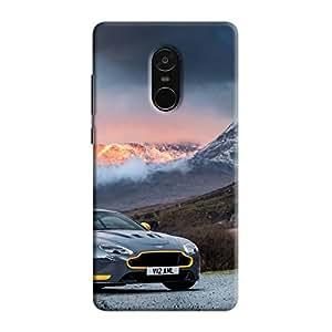 Cover It Up - AM Vantage GT8 Orange Redmi Note 5 Hard Case